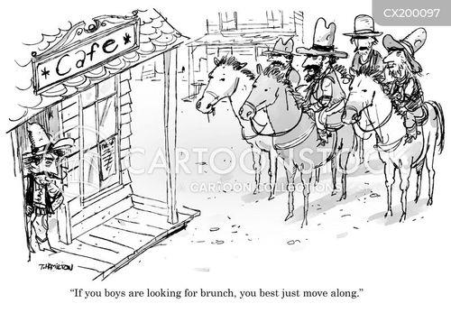 unwelcome cartoon