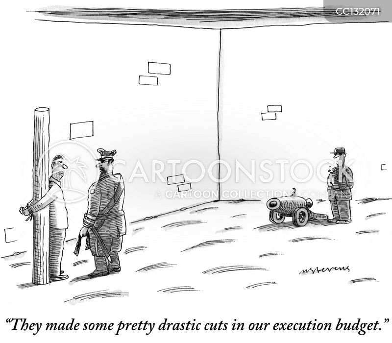 government funding cartoon