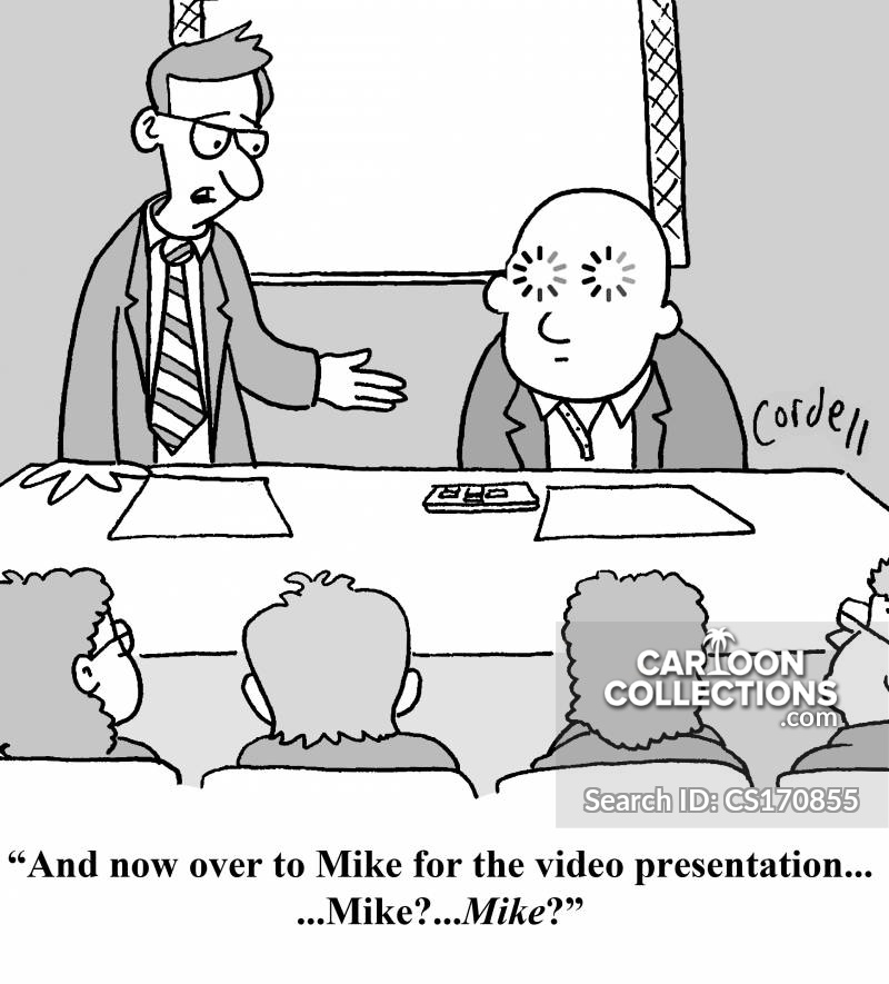 video presentation cartoon