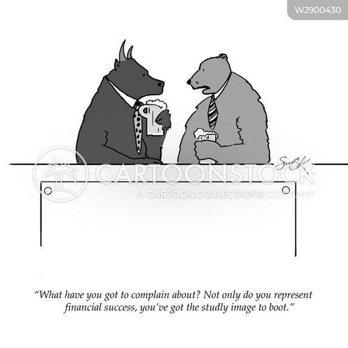 bear markets cartoon