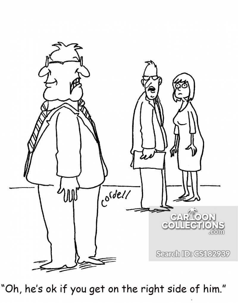 work relations cartoon