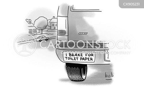 loo roll cartoon