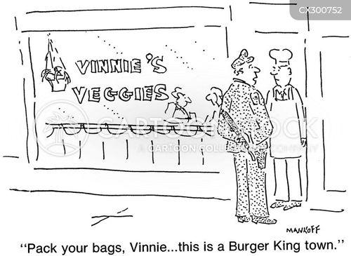 burger chain cartoon