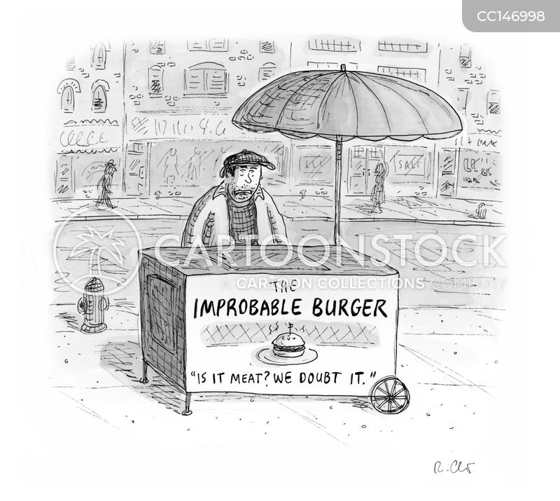 street foods cartoon