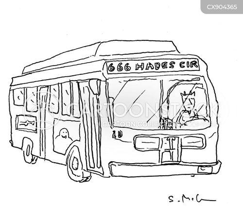 busses cartoon