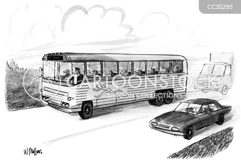 tour group cartoon