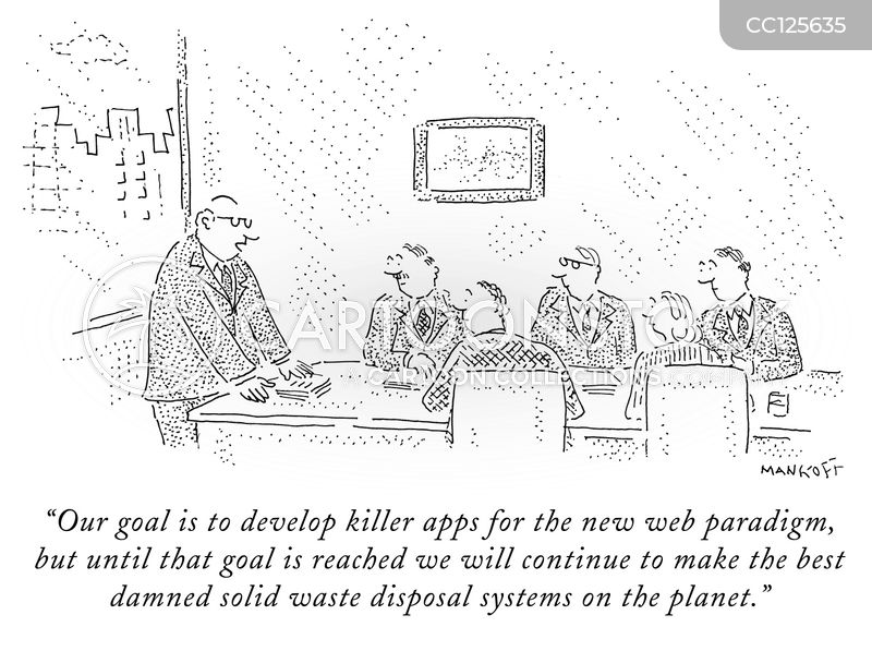 App cartoon