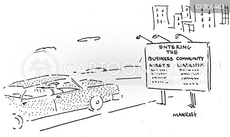 business liabilities cartoon