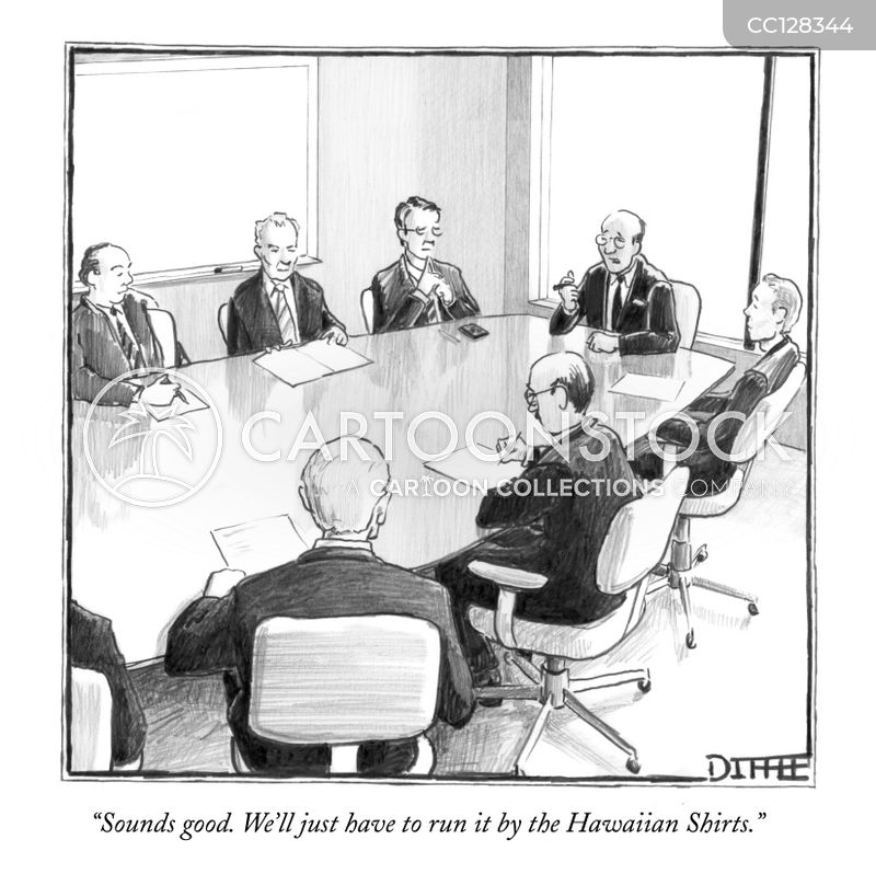 Meetings cartoon