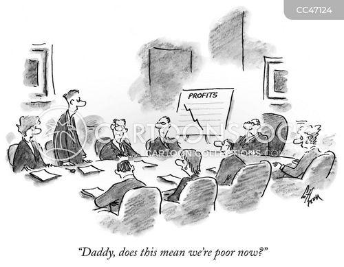 profits cartoon