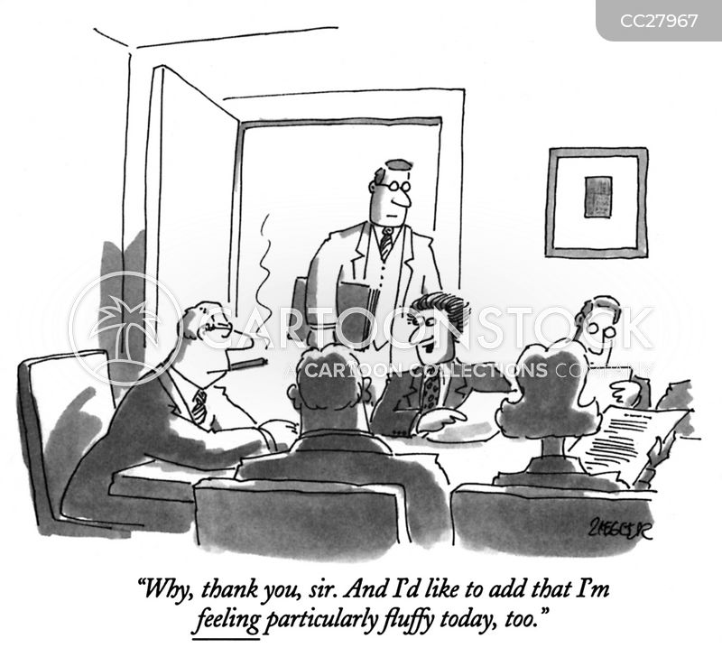 conferences cartoon