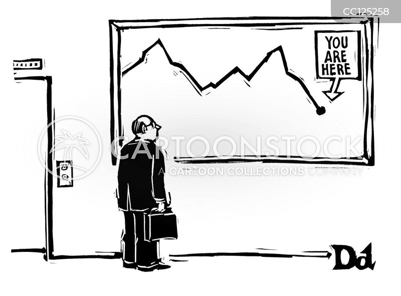 stock markets cartoon