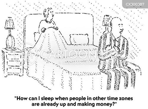 time zones cartoon