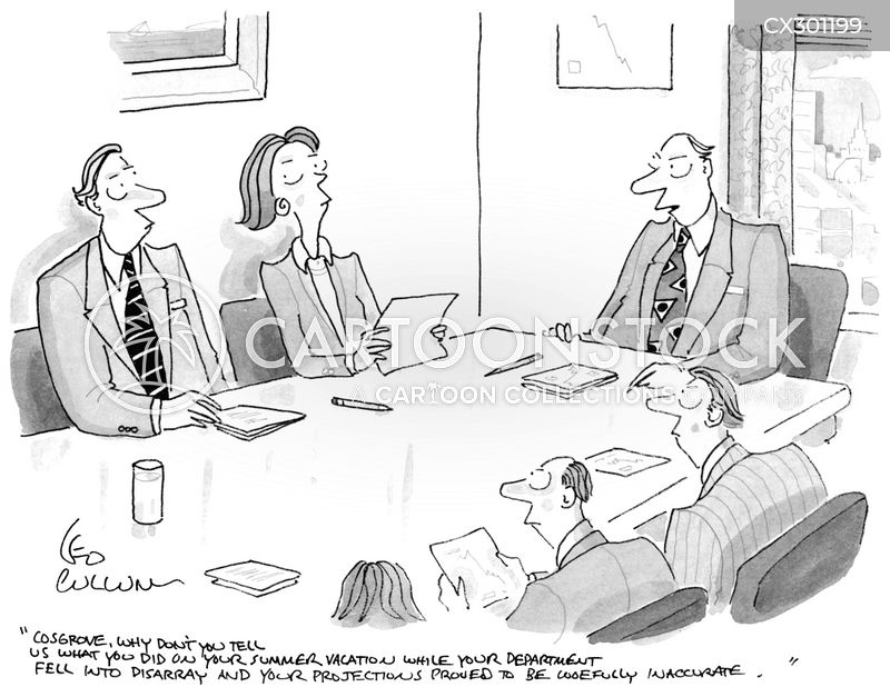 Job Review cartoon