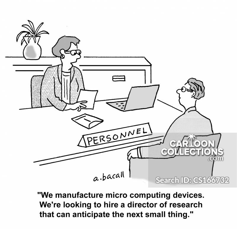Research Directors cartoon