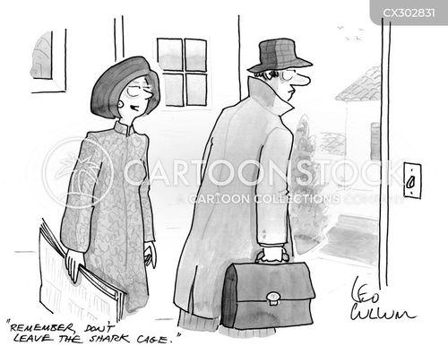 work environment cartoon