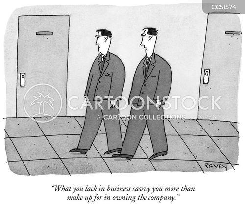own cartoon