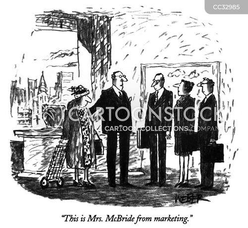 marketers cartoon