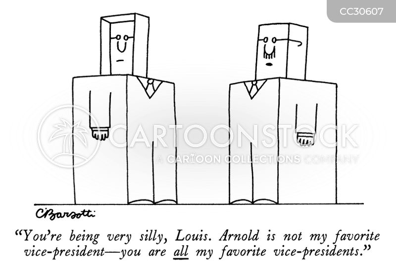 vice president cartoon