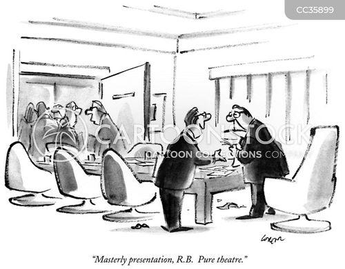 congratulating cartoon