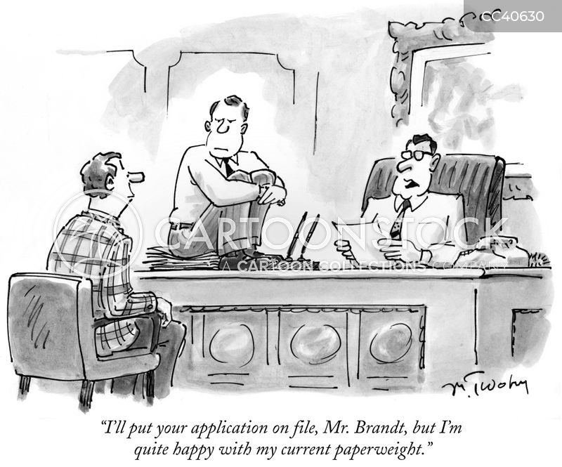 applications cartoon