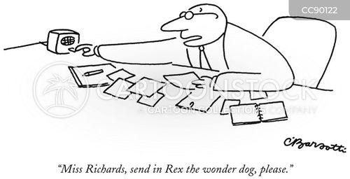 intercoms cartoon