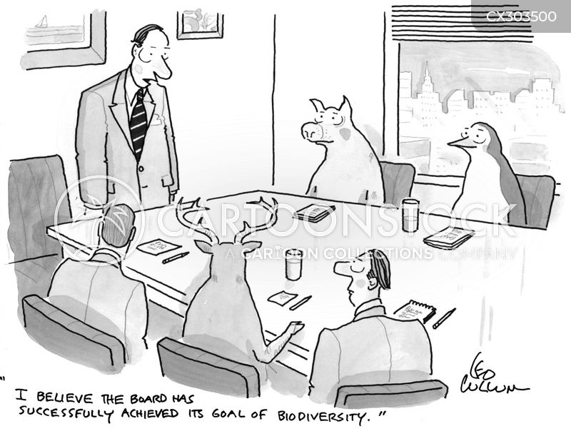 board member cartoon
