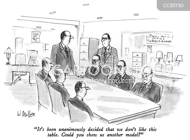 office furniture cartoon