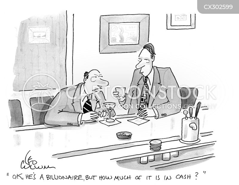 billionaires cartoon