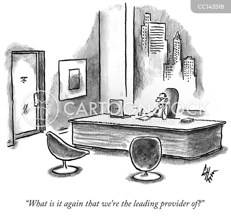 Provider cartoon