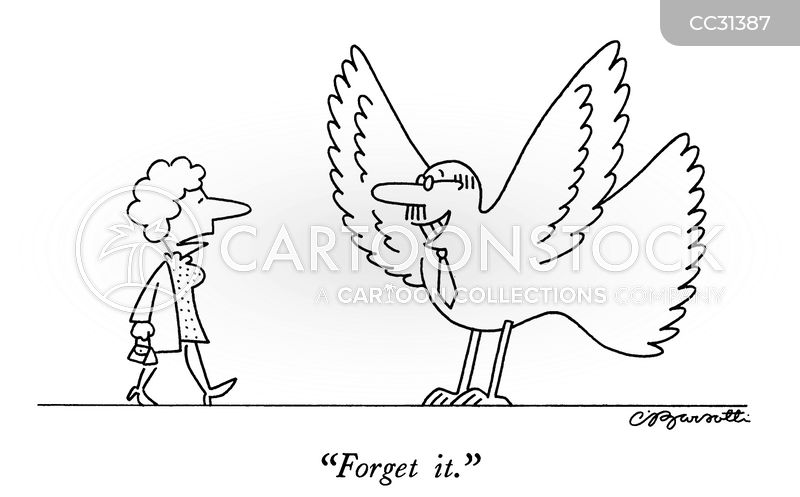 plumage cartoon
