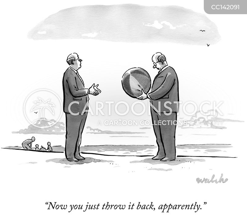 beach-balls cartoon