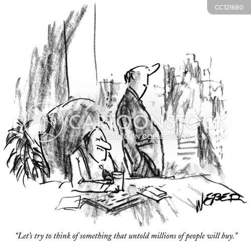 marketing tactic cartoon