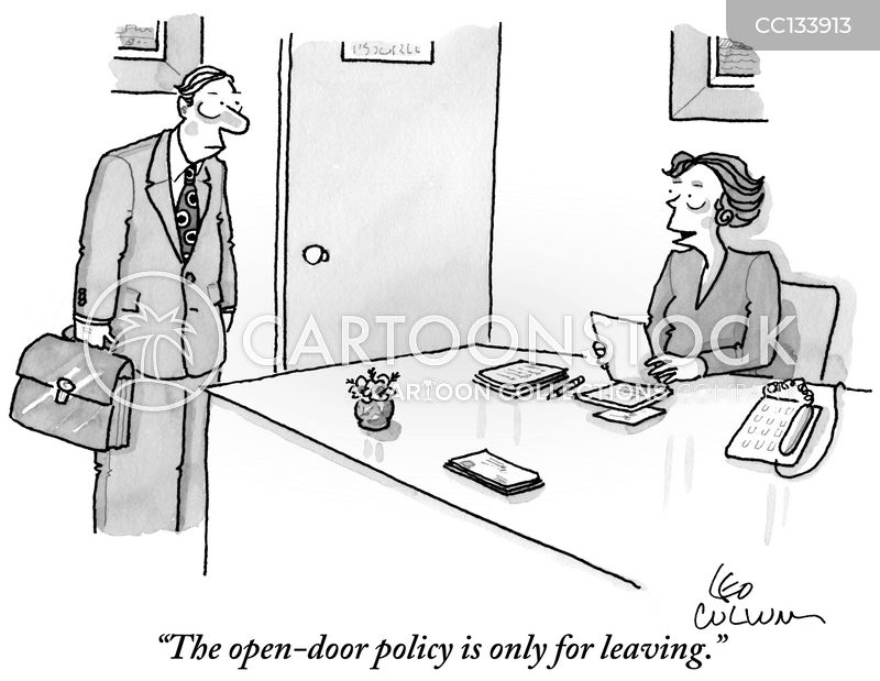 Open-door Policy Cartoons and Comics - funny pictures from Cartoon ...