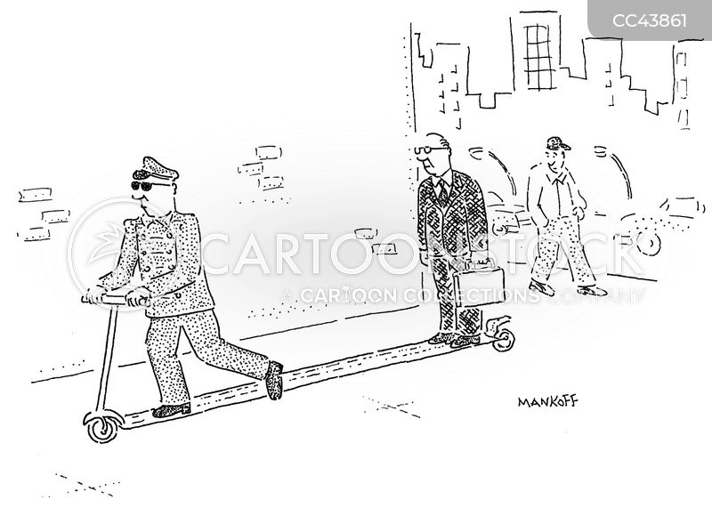 chauffeur cartoon
