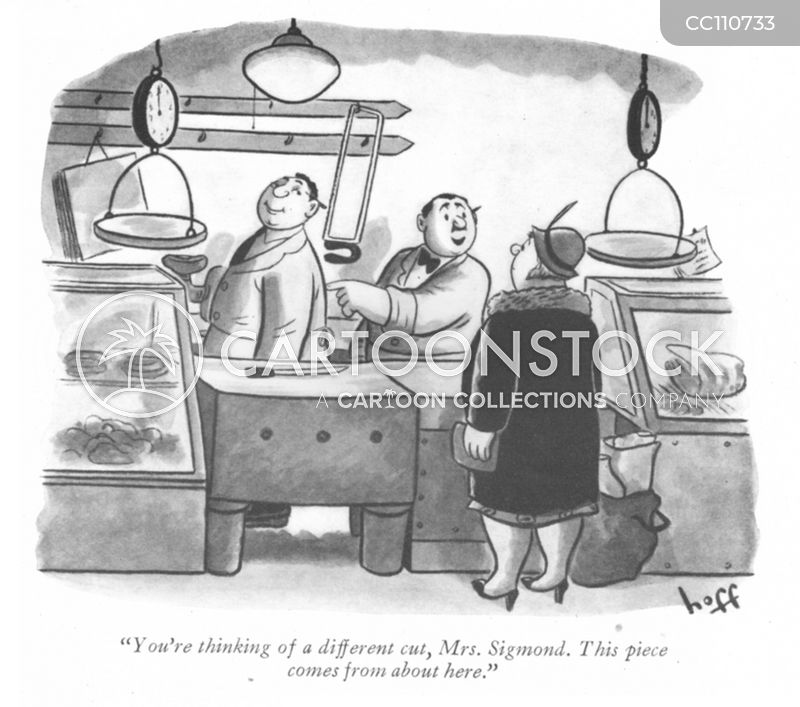 1940s Butchers cartoon