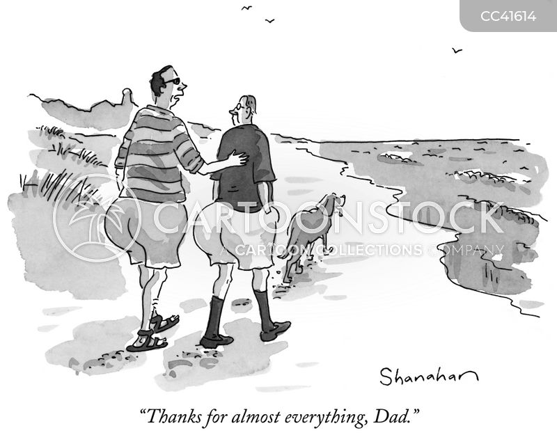 fathers cartoon