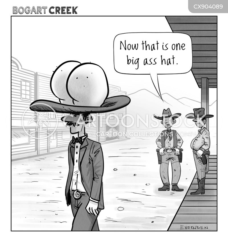 10 gallon hats cartoon