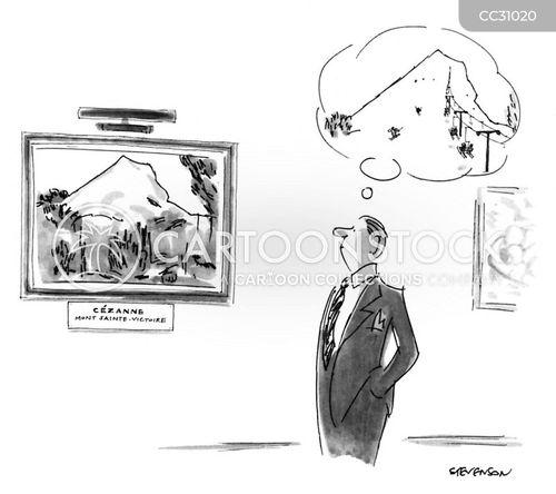 paul cezanne cartoon