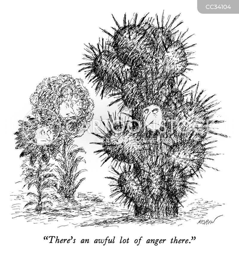Cactus Cartoons and Comics - funny pictures from CartoonStock