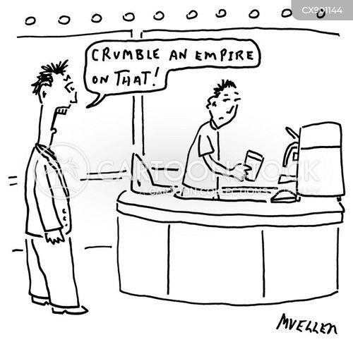 baristas cartoon