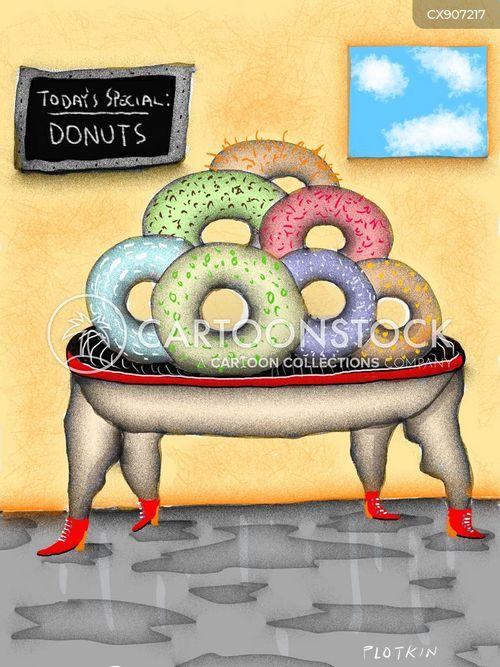 doughnut cartoon