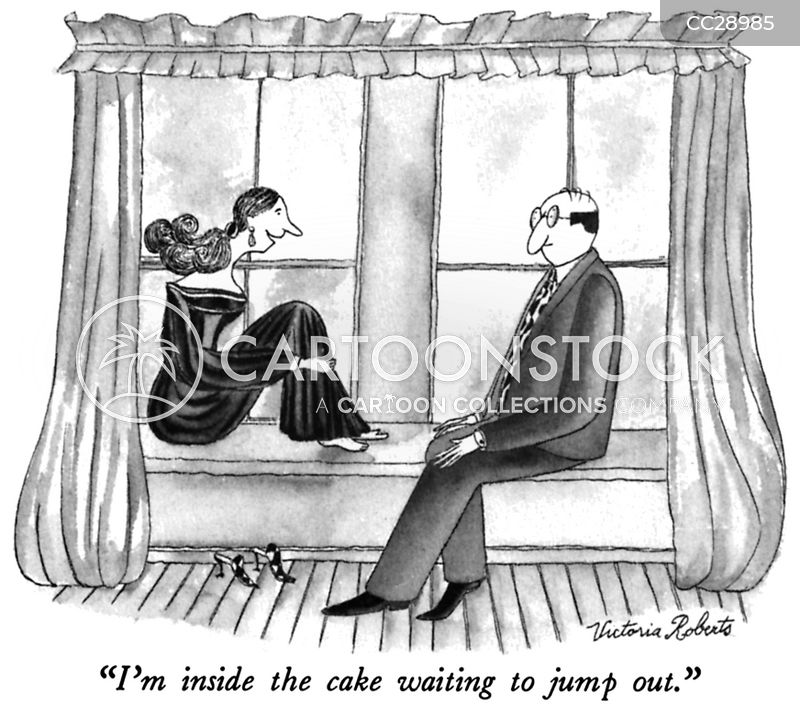 anticipation cartoon