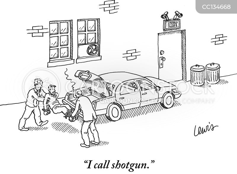 shotgun cartoon