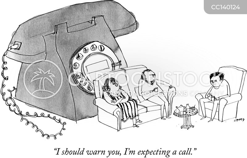 Telephones cartoon