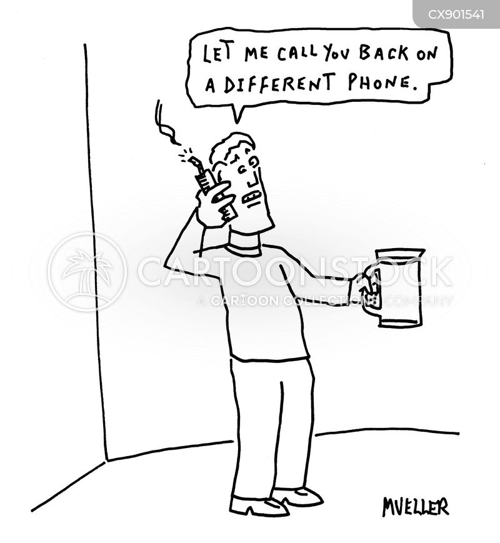 calling back cartoon