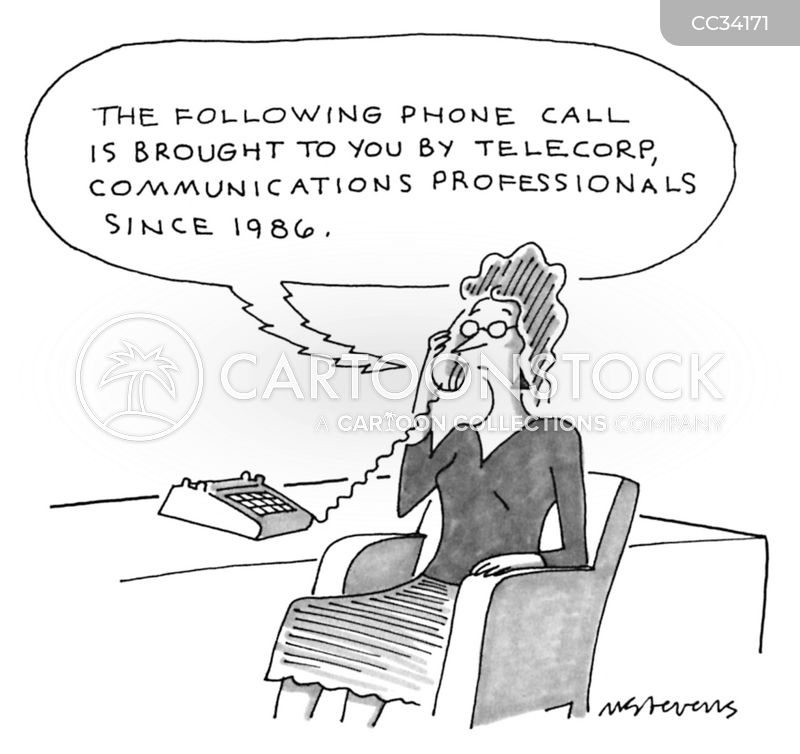 recorded messages cartoon