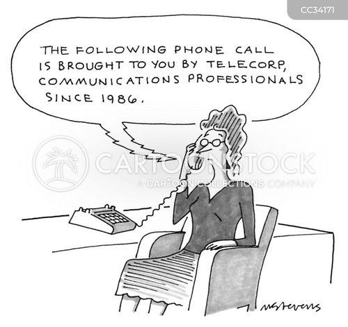 nuisance calls cartoon