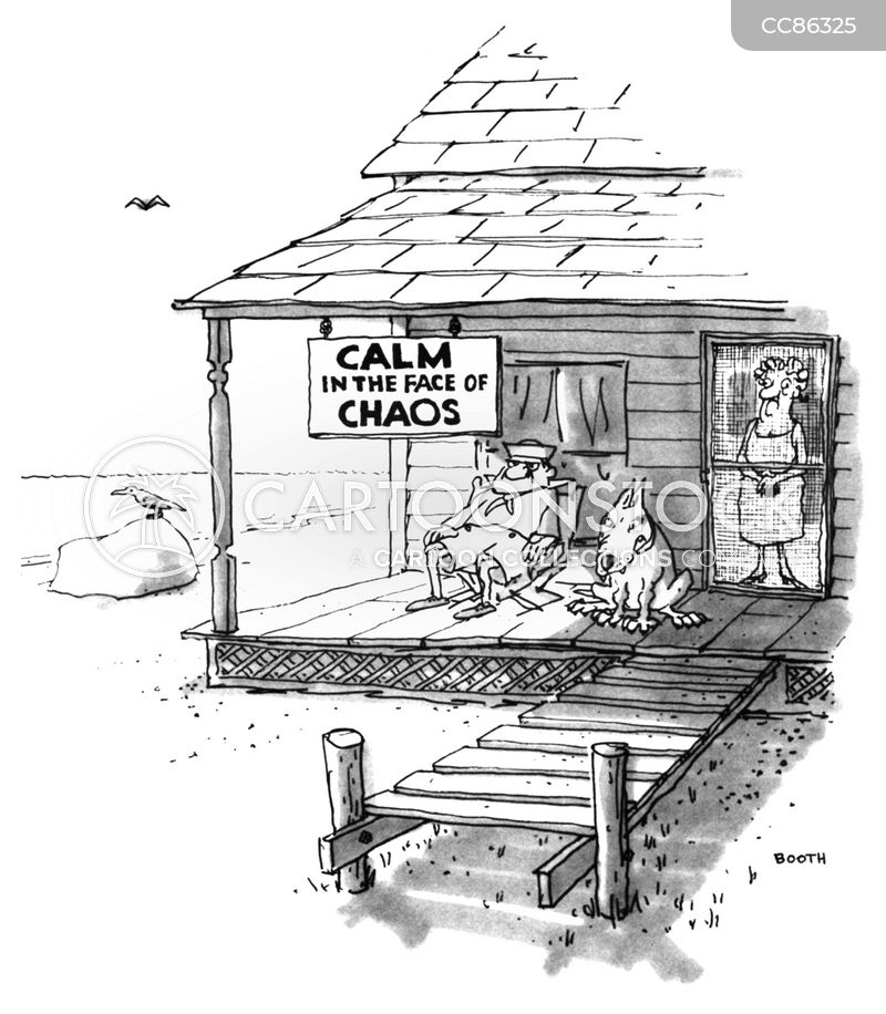 calm cartoon