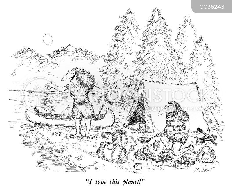 campers cartoon